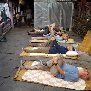 Un peu de relaxation par le yoga