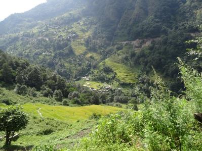 Kyumi au fond de la vallée