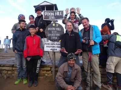 Sommet de Poon Hill
