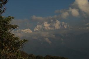 Sous la bienveillance du Dhaugiri