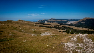 Vue ur les Hauts Plateaux du Vercors