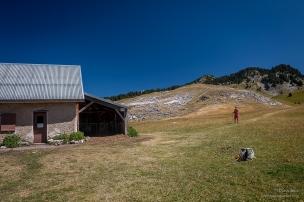 Cabane de Pré Peyret 1 600 m. Refuge non gardé . A minima 10 couchages