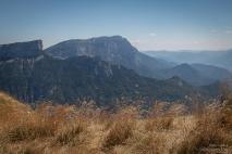 Vue sur le Sud Vercors et la montagne du Glandasse 2 041m.