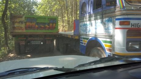 Route entre Katmandou et Syafrubesi
