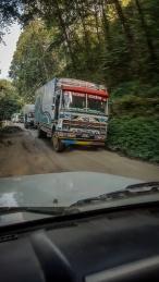 Piste entre Katmandou et Syafrubesi